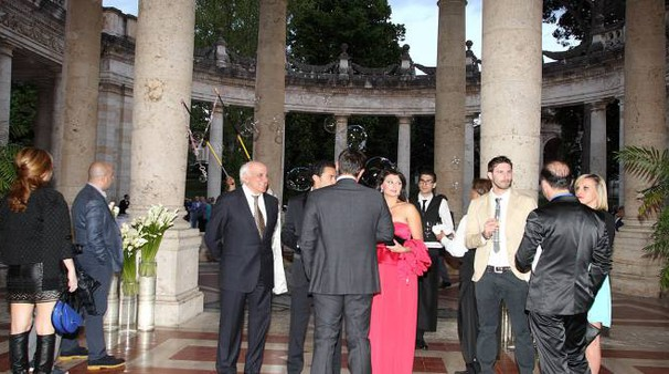 Una serata di gala all'interno dello stabilimento Tettuccio, 'salotto buono' delle Terme