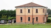 L'abitazione di Fossanova, in via Ravenna, teatro della tragedia (Foto Businesspress)