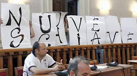 COMUNE PROTESTA LAVORATRICI MEDUSA