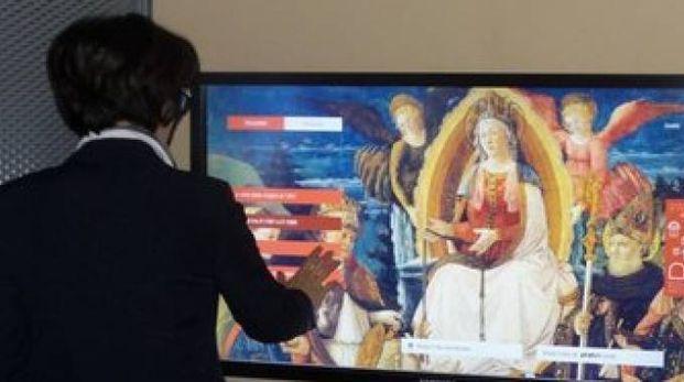 I touch screen a Palazzo Pretorio
