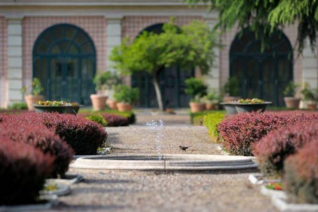 Uno scorcio del giardino (immagine di Foto in Fuga)