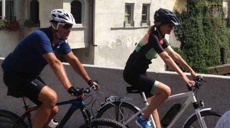 Ciavenna In Bici - NON FIRMARE LE FOTO - (NATIONAL PRESS/ORLANDI)