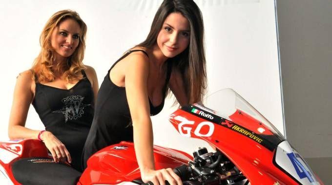 Una moto Mv Agusta