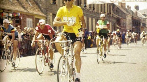 Il grande campione di ciclismo Gastone Nencini