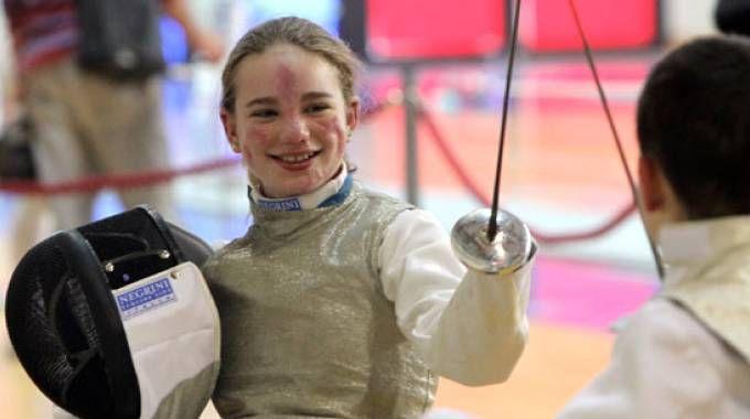 Bebe Vio, classe 1997, è campionessa mondiale