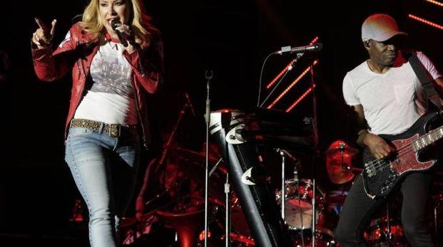 Anastacia sul palco (Foto Zeppilli)