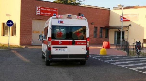 Il pronto soccorso dell'ospedale di Vigevano (Sacchiero)
