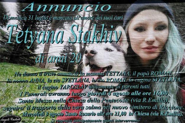 Il funerale di Tetyana Stakhiv (Fotoriccione)
