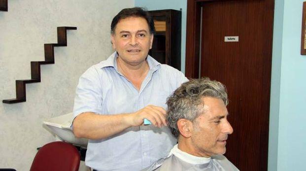 Claudio Sesto Travanti al lavoro