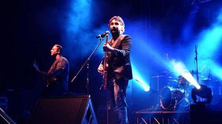 Il concerto dei Tiromancino (foto Vives)