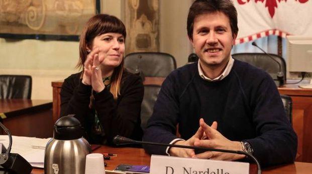 Brenda Barnini e il primo cittadino metropolitano Nardella