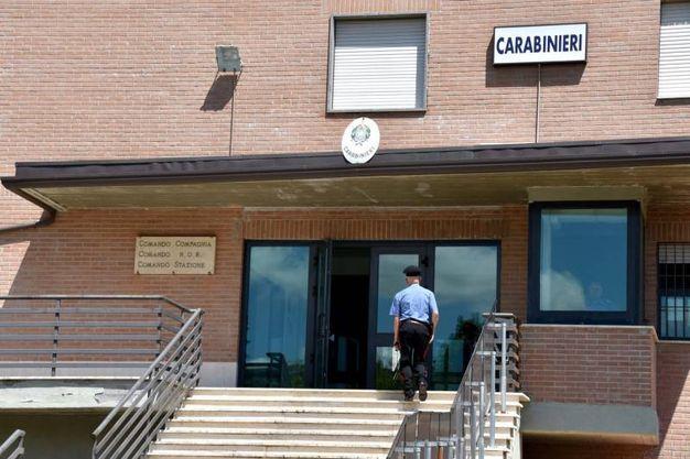 Omicidio di San Pietro in Casale: l'arresto di Villani, ritenuto l'autore del delitto. L'uomo è stato bloccato a Forlimpopoli, nel Forlivese (Foto Fantini)