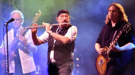 Ian Anderson e i Jethro Tull (foto Vives)