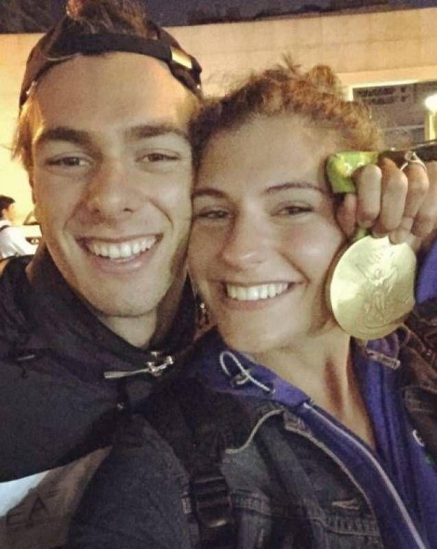 Грегорио Палтрениери и приятелката Летизия (Инстаграм)