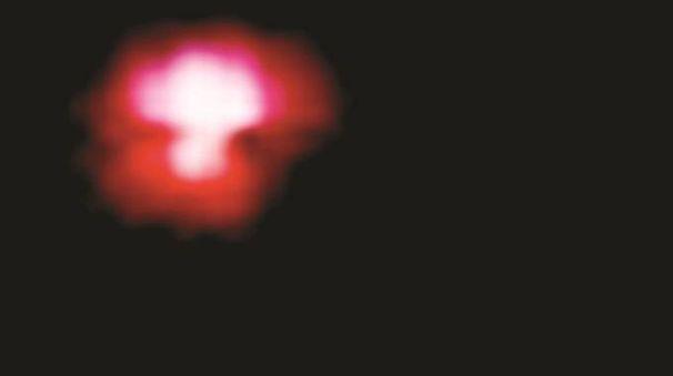 Lendinara, la sfera rossa avvistata la notte di Ferragosto