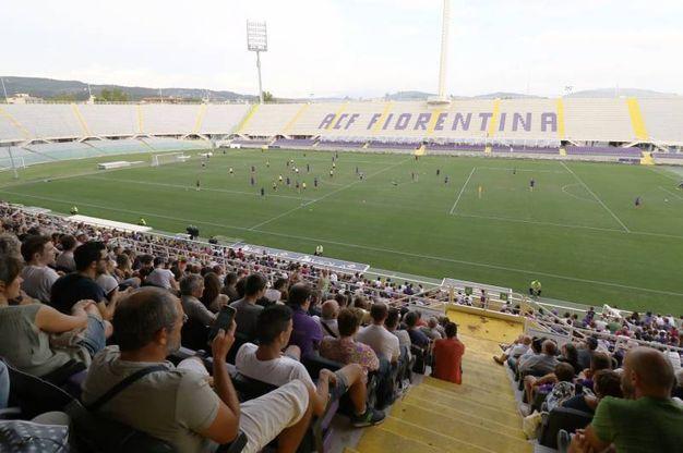 Allenamento Fiorentina prima