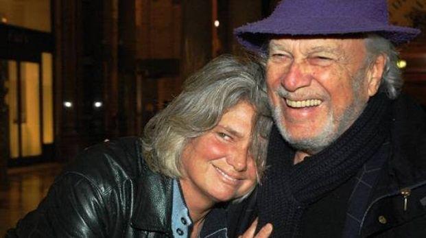 Pia de' Tolomei di Lippa con Giorgio Albertazzi: sono stati insieme 35 anni