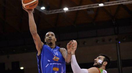 IG Basket Cup, Serie A2, Dinamica Generale Mantova vs BCC Agropoli, Terrence Roderick