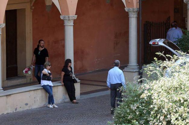 Il funerale di Barbara Fontana, la donna è stata uccisa a coltellate da Claudio Villani (foto Schicchi)