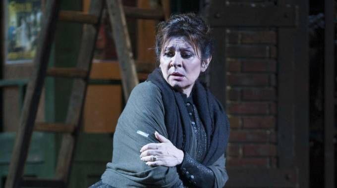 Daniela Dessì a Torre del Lago nella Bohème 2014 diretta da Ettore Scola (foto Umicini)