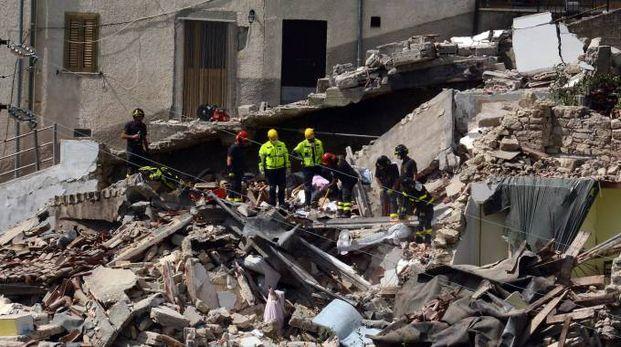 La devastazione a Pescara del Tronto