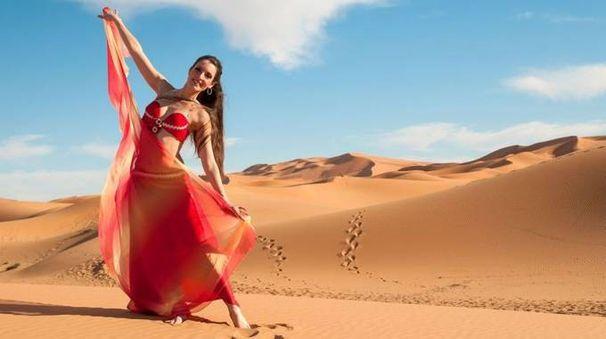 La cremasca Silvia Brazzoli, 29 anni, partirà  con la Bellydance Evolution. Prima tappa il Marocco a Casablanca