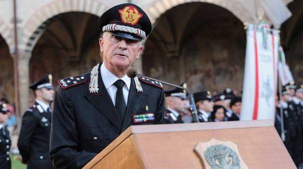Il comandante generale dell'Arma Tullio Del Sette