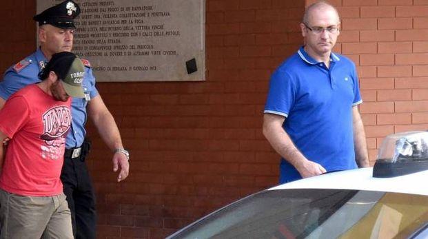 Omicidio di Fossanova, l'arresto del reo confesso Simone Bertocchi (Foto BusinessPress)