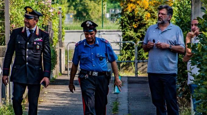 I carabinieri e il magistrato hanno effettuato rilievi meticolosi nella villetta di via Montecampione