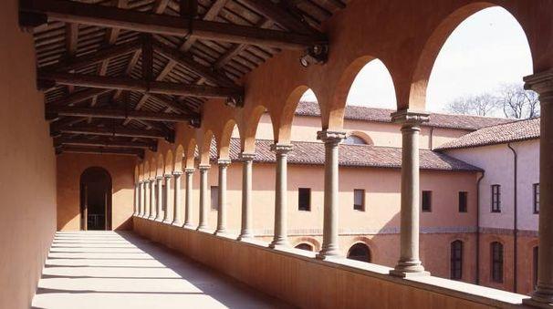 Il chiostro del museo San Domenico