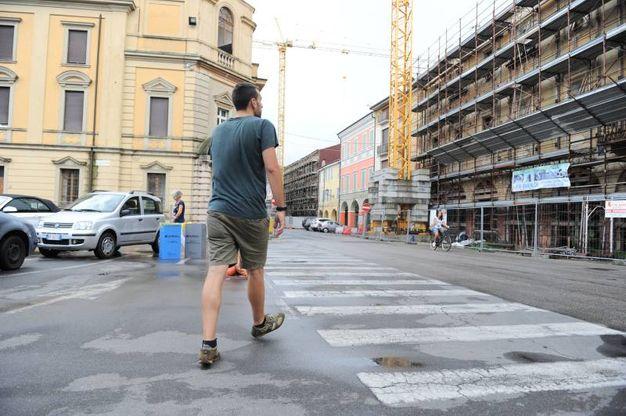 Terremoto, 4 anni dopo: il centro storico di Mirandola (Foto Fiocchi)