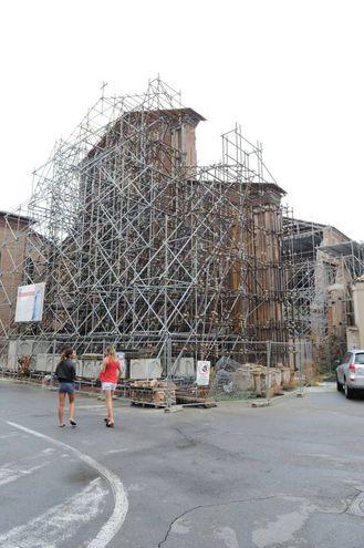 Terremoto, 4 anni dopo: Mirandola, la chiesa di San Francesco (Foto Fiocchi)