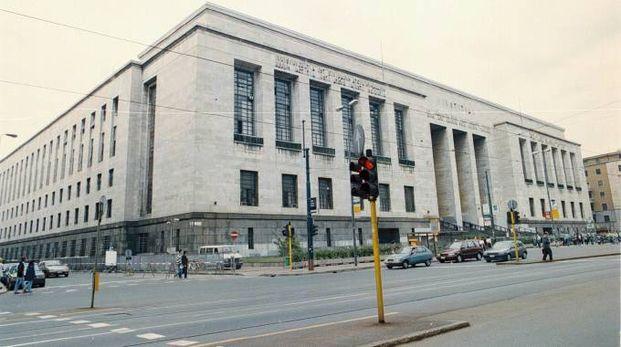 L'esterno del Tribunale di Milano