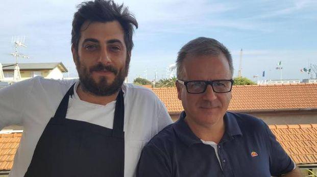 PROTAGONISTI Gabriele Giovanelli (a sinistra) e Luca Arcolini