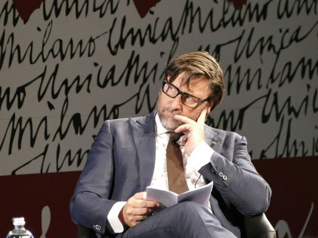 Claudio Marenzi, presidente di Sistema Moda Italia, a Milano Unica (foto Attalmi)