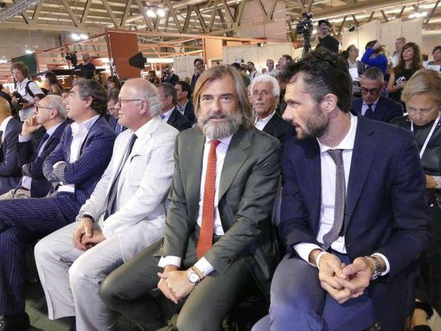 Andrea Cavicchi Matteo Biffoni a Milano Unica (foto Attalmi)