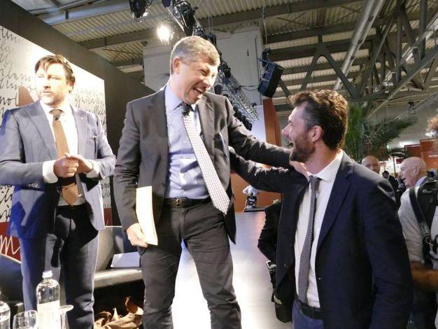 Ivan Scalfarotto e Matteo Biffoni a Milano Unica (foto Attalmi)