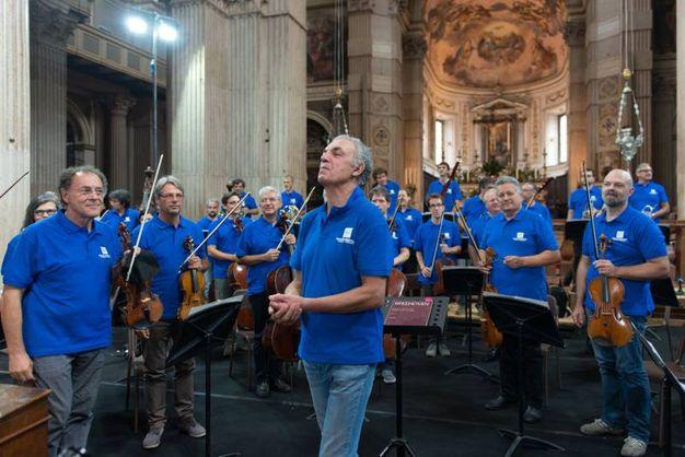 Il concerto dell'orchestra