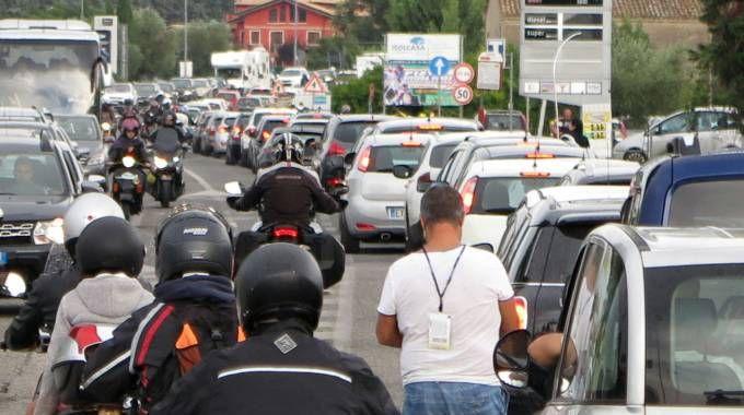 Misano, traffico nel giorno del Motogp (PasqualeBove)