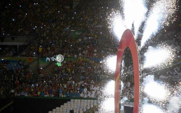 Paralimpiadi rio 2016, cerimonia di apertura (Afp)