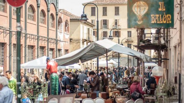 Gran balon nuova edizione del mercatino delle pulci di for Balon torino