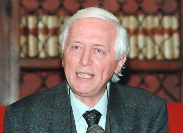 Nel 2000 alla presentazione del libro di Dino Frescobaldi al Gabinetto Viesseux (New Press Photo)