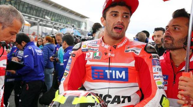 Andrea Iannone, 27 anni, è di Vasto e gareggia per la Ducati (Ansa)