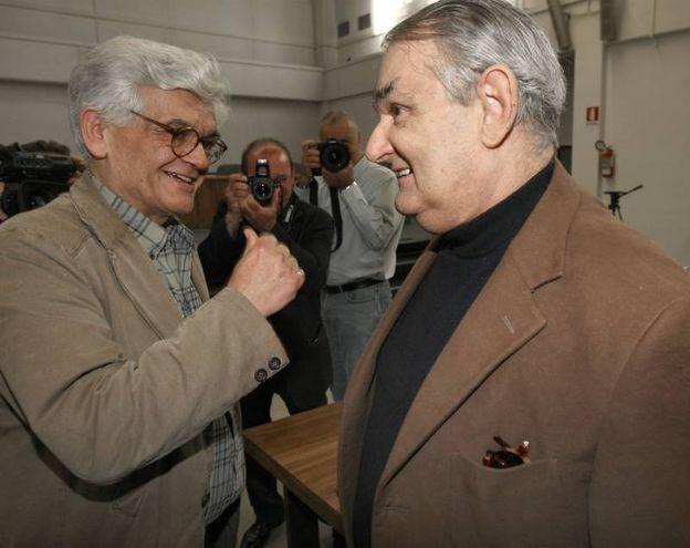 Nel 2008 alla sentenza del processo a Francesco Calamandrei (archivio New Press Photo)