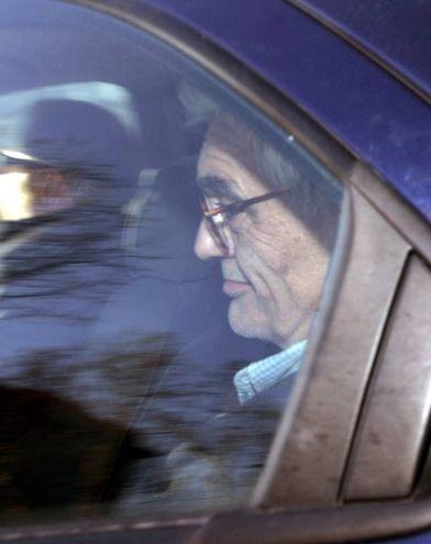 L'arresto nel 2006 (archivio New Press Photo)