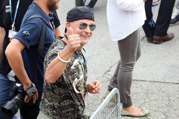 Roberto Baggio (foto Petrangeli)