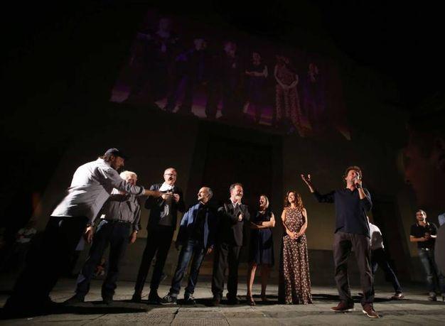 Un'immagine della serata (foto Marco Mori/New Press Photo)