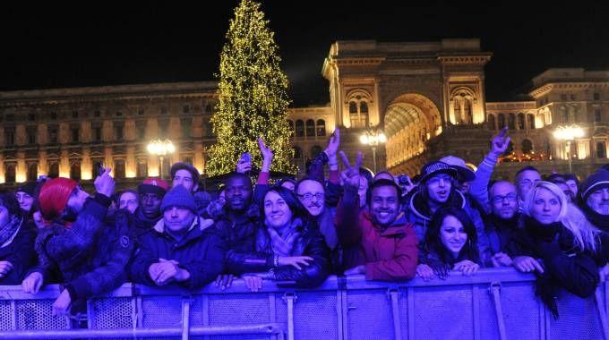 Il concerto di Capodanno in piazza Duomo attira sempre migliaia di persone non solo di Milano