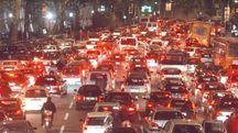 Traffico e rumore in città (Pressphoto)