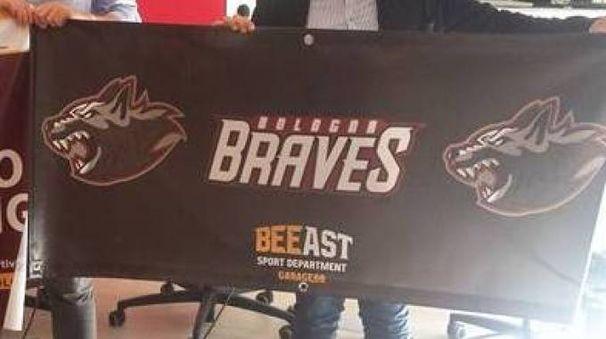 Footbal americano, la presentazione dei Braves
